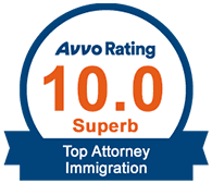 Avvo 10.0 Superb - Top Attorney Immigration